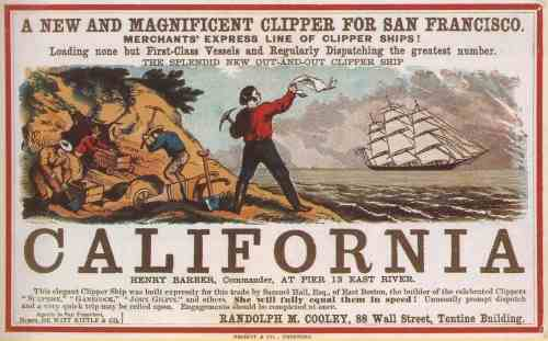 California clipper ships