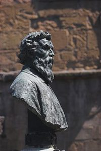 bust of the artist Cellini