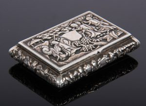 chinese silver jewelry box