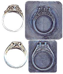 Jewelry and jewelry dies
