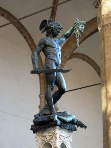 Cellini's statue in Florence