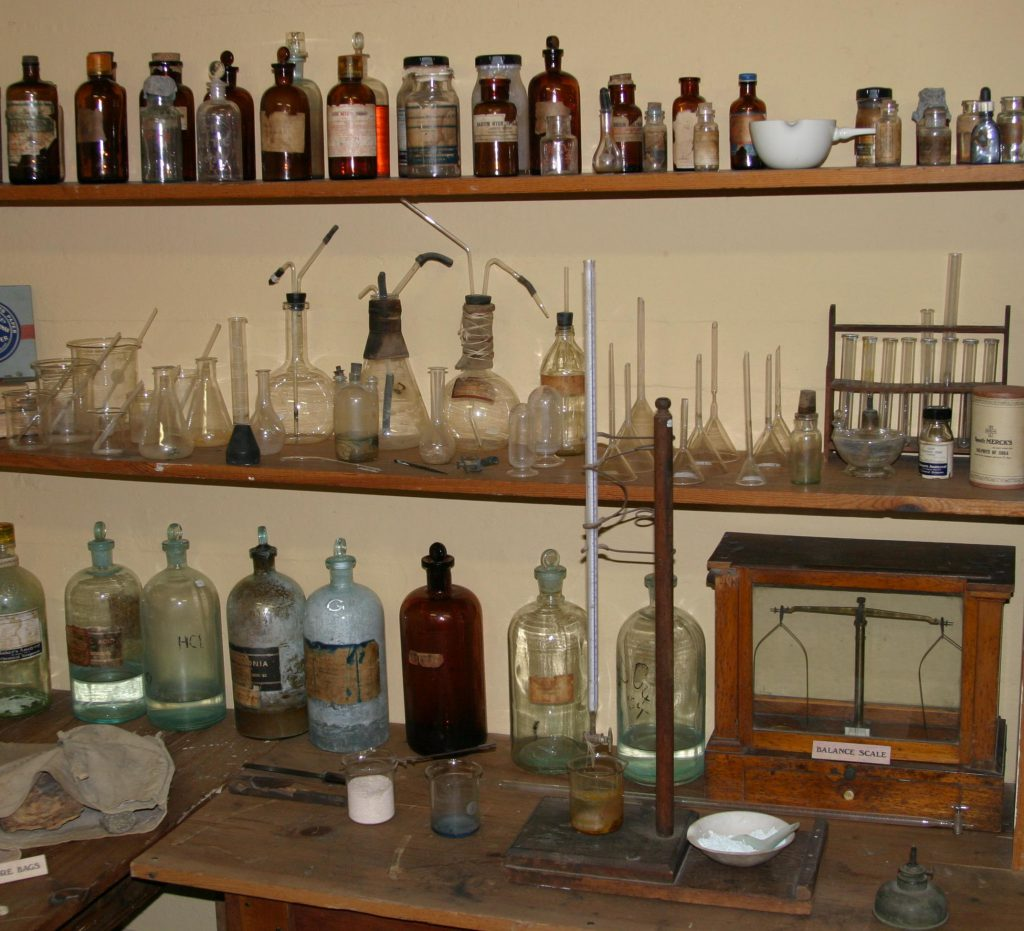 Tombstone assay office lab