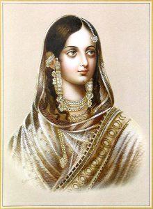 Zeenat Mahal wife of Bahadur Shah II