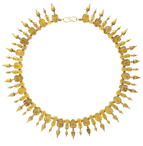 Castellani gold necklace