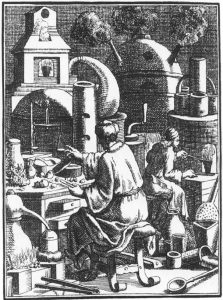 engraving laboratory 1698