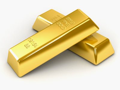 precious metal gold bars