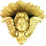 gold gilt cherub