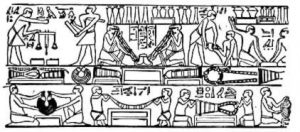 metalsmith's workshop in ancient egypt