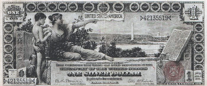 silver dollar paper