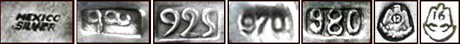 examples of silver standard marks.