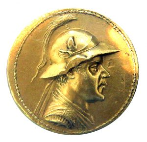 solid gold ancient coin