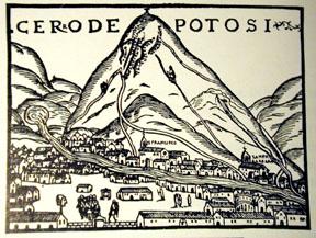 Potosi silver mine