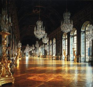 hall of mirrors gold leaf