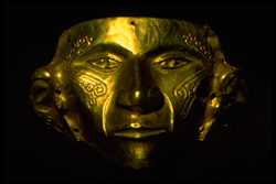 gold mask of el dorado
