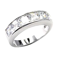 rhodium plating white gold ring