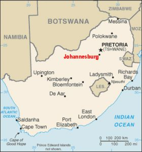 johannesburg mining