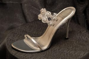 stuart weitzman diamond shoes