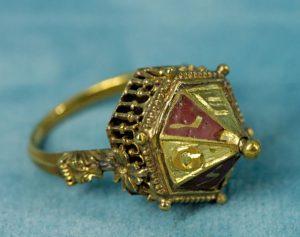 medieval jewish wedding ring