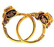 open gimmel ring