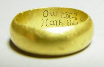 posey ring with inscription
