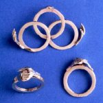 3 piece gimmel ring