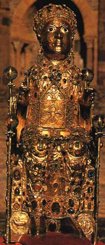 reliquary of Saint Faith