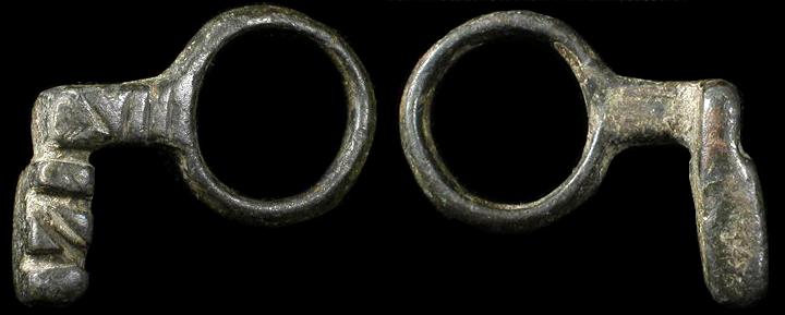 ancient roman key ring