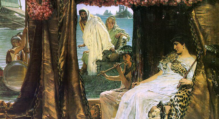 Antony and Cleopatra by Sir Lawrence painting