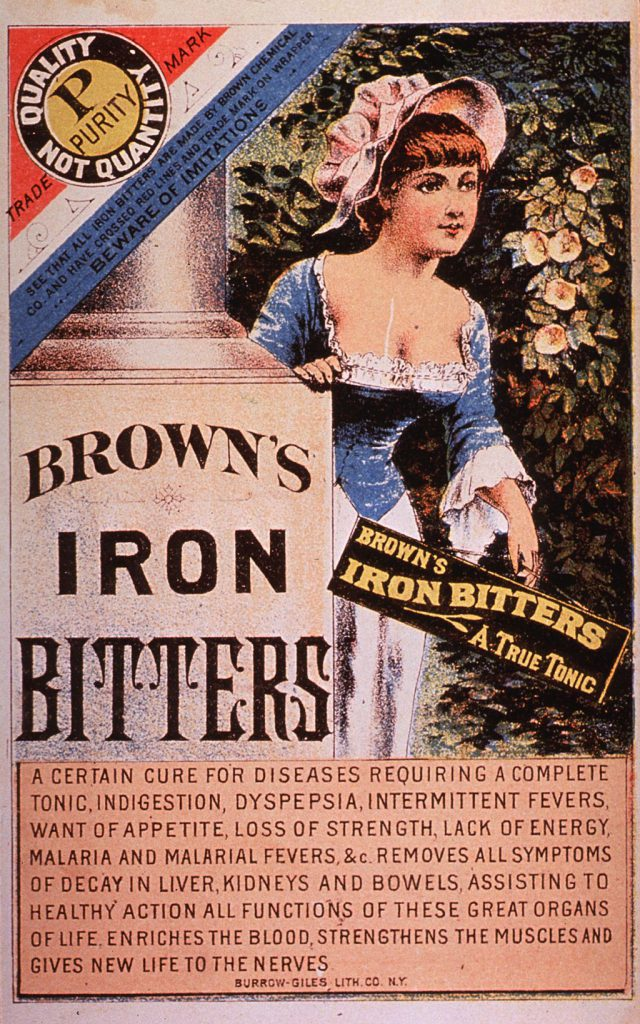 curative effects of iron