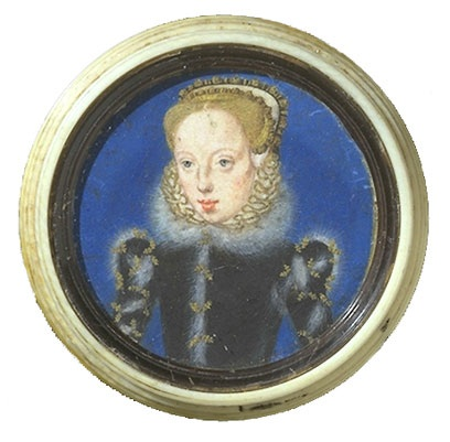 Catherine Grey love ring portrait