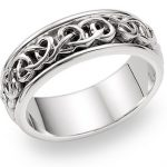 Celtic wedding band