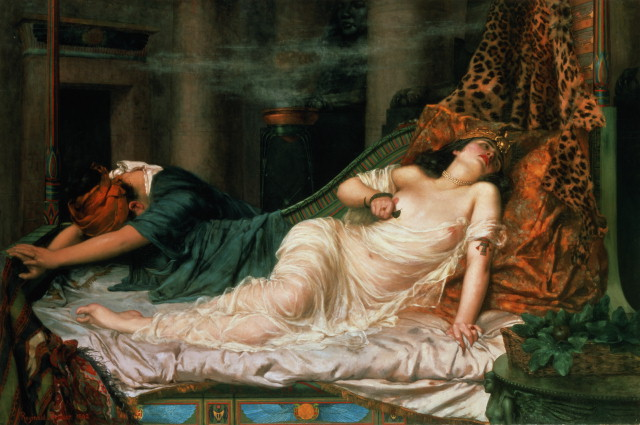 painting of Cleopatra's death