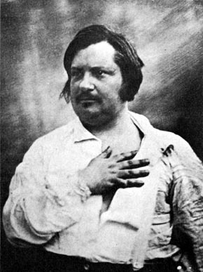 Honore de Balzac portrait