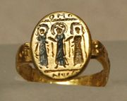 early christian wedding ring