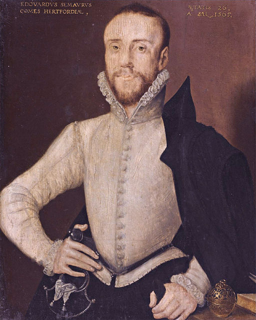 Edward Seymour married Catherine Grey