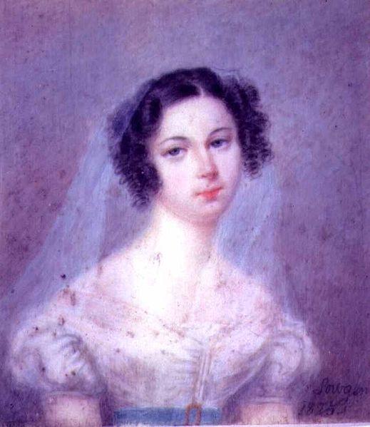 portrait of Ewelina Hanska