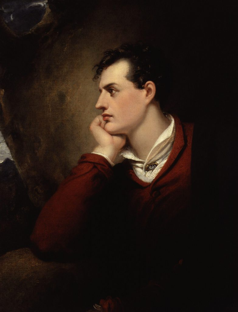 Lord Byron portrait love ring