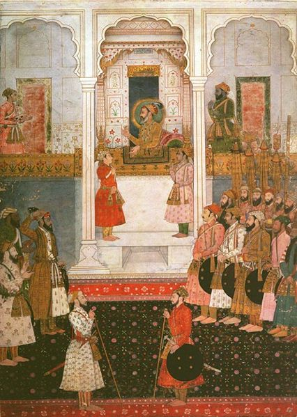 court of Shah Jahan art