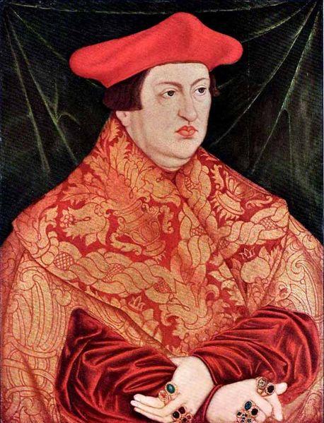 Cardinal Albert of Hohenzollern heavy rings