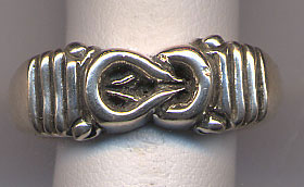 Heracles knot in jewelry
