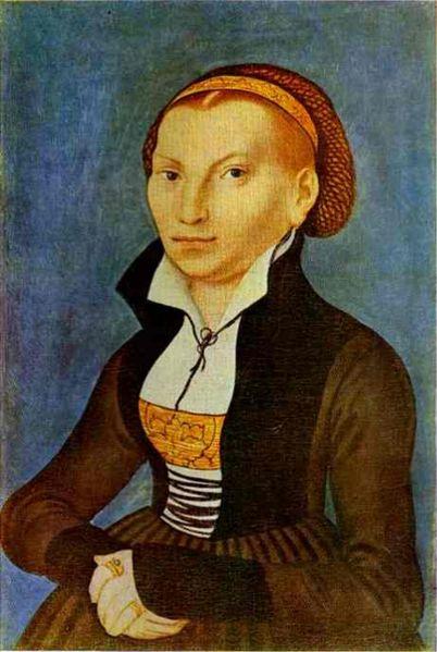 portrait of Katharina von Bora