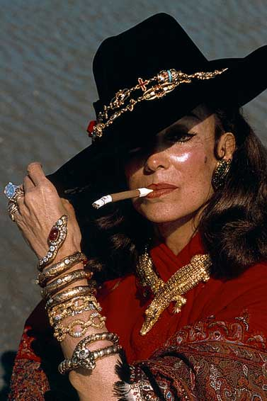 Maria Felix crocodile necklace and jewelry