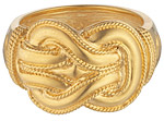 modern ring heracles knot
