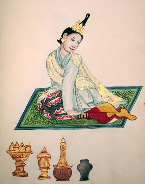 Wife of a Burmese King's Merchant
