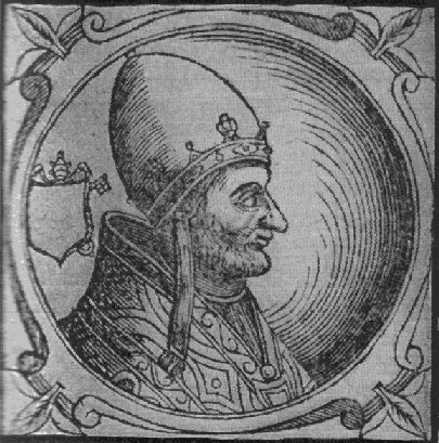Pope Adrian IV ring