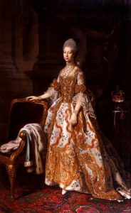 painting queen charlotte
