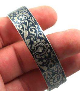 niello bracelet