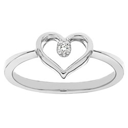 promise ring one heart