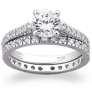 wedding ring bridal set