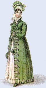 Regency Period walking dress